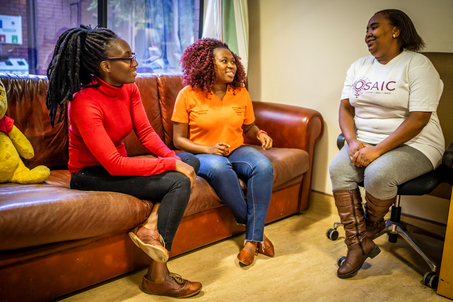 Empowerment of Survivors with education, skills and training